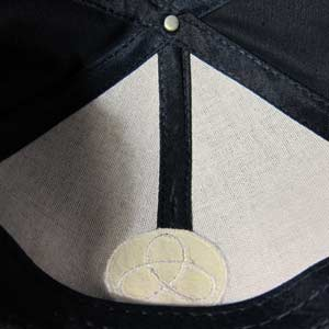 Example of Structured Hat with Buckram on inside