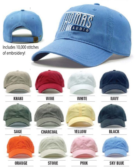 i7001s Custom Embroidered Hats with Antique Clip