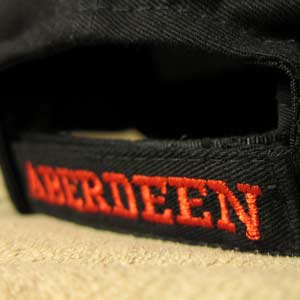 Velcro Back Strap With Embroidery